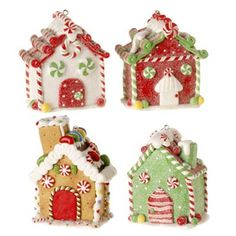 2010 Christmas Gingerbread House decorations from RAZ