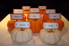Pumpkin Card Holders