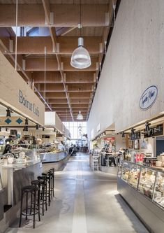 Image 19 of 30 from gallery of Östermalm's Temporary Market Hall / Tengbom. Photograph by Felix Gerlach