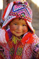 Peruvian People, Peruvian Women, Peruvian Art, Precious Children, Beautiful Children, Beautiful Babies, Kids Around The World, People Of The World, Beautiful Smile