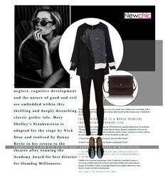 """""""Newchic I/22"""" by amra-mak ❤ liked on Polyvore featuring AG Adriano Goldschmied, FitFlop and newchic"""