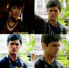 Love Alec's face in this scene! 2x05
