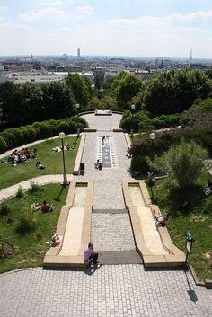 Best view in Paris, Parc de Belleville
