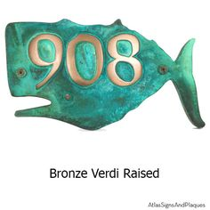 A little whimsy does a home good! Here it is. A whale for your address plaque? Our designers get a little crazy. But they only do it to make your home more unique and to cause smiles while showing that you care about the endangered species.