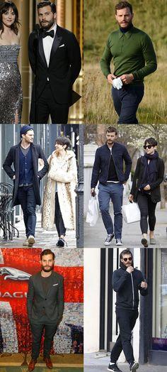 Jamie Dornan Personal Style Lookbook