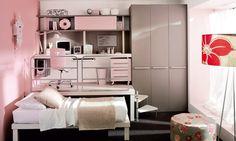 Muebles Juveniles que aprovechan el espacio