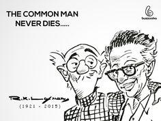 The 'Common Man' cartoonist RK Laxman dies at age 93
