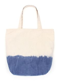 Dipped Tote - We had our 100% cotton Tote Bags dipped by hand. Made in the USA.