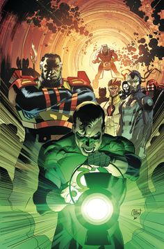 Green Lantern: New Guardians: Storming the Gates TP Cover by Lee Weeks