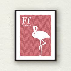 nursery  Childrens Alphabet Art  F is for by PaperFinchDesign, $15.00