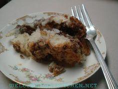 SOUR CREAM COFFEE CAKE RECIPE`~ TATES BAKE SHOP