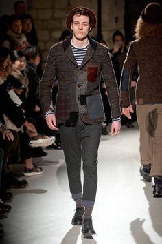 Junya Watanabe Fall 2013 Menswear Collection