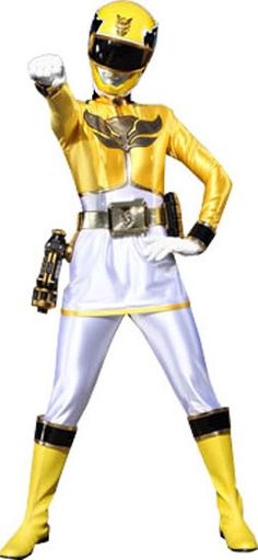 yellow power ranger megaforce - photo #20