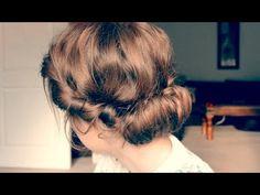 Grecian/Boho Hair Tutorial - YouTube