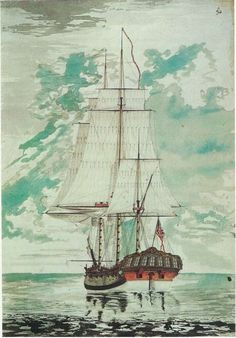 Hms Resolution By Henry Roberts.  Resolution was a sloop of the Royal Navy, and the ship in which Captain James Cook made his second and third voyages of exploration in the Pacific.