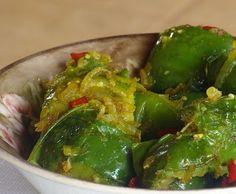 Bentos Culinárias: Refogado de Jiló ao Curry