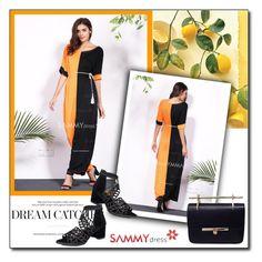 """Sammydress"" by janee-oss ❤ liked on Polyvore"
