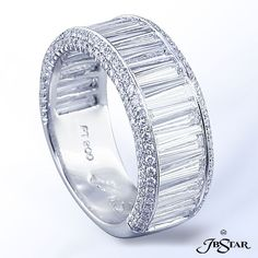 Diamond Rings : maybe this is the next one =). - Buy Me Diamond Diamond Bands, Diamond Wedding Bands, Diamond Jewelry, Wedding Rings, I Love Jewelry, Fine Jewelry, Jewelry Design, John Hardy, Schmuck Design