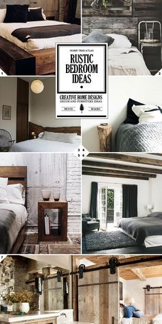 Rustic Bedroom Ideas and Furniture Designs