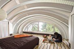 "Eyebrow House (Featured in ""Portlandia"") - contemporary - bedroom - portland - Papazian R.A."