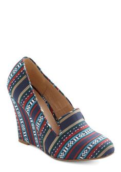 Woven with Wonder Wedge, #ModCloth