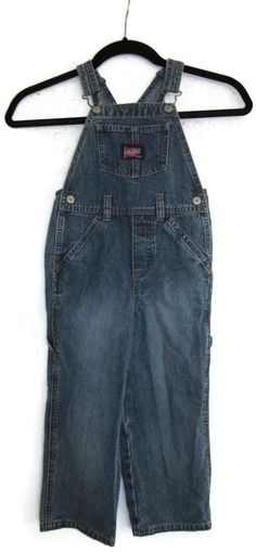 Old Navy Overalls Denim 4T Toddler Boys Girls Jean  #OldNavy #Overalls #Everyday