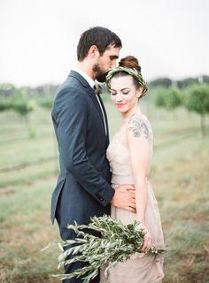 Half Orange Photography via Wedding Sparrow