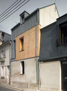 Rue Losserand by atelier 100architecture.