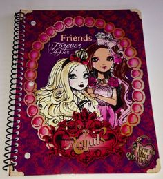 Ever After High Spiral Notebook  One Subject NEW Great For Back To School