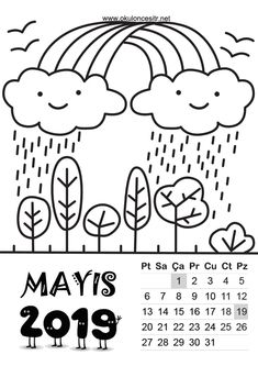2019 Standart Calendar Printable The calendar on this page is prepared as a standard 2019 calendar templates free printable.