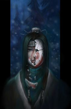 Naruto ~~ Heartbreaking fanart of tragic darling, Haku