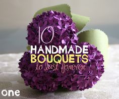 DIY bridesmaid bouquets | Handmade Wedding Bouquets | Emmaline Bride