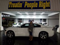 Congratulations Elizabeth Pendergrass on the purchase of your 2016 Dodge Charger R/T. We appreciate your business.
