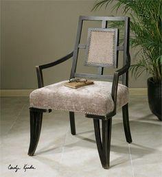 Uttermost Alazne Topaz Accent Chair (23184)