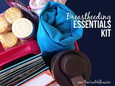 Ten items to include in a breastfeeding essentials kit from a Certified Lactation Counselor. Great gift idea!