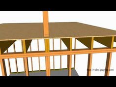 Six Examples of How Second-Story Walls Are Supported – Structural Framing and Engineering - YouTube
