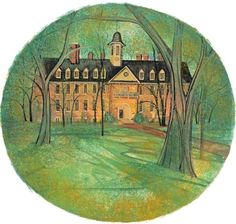 Sir Christopher Wren Building, The Giclée William And Mary, Wren, Colleges, Galleries, Nice, Heart, Building, House, Painting