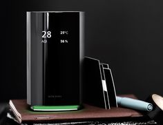 With the JACOB JENSEN Air Quality Monitor, you can understand more about what you're breathing in.