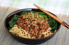 My Kitchen Snippets: Dan Dan Noodles