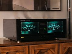 ONKYO Integra VU meters