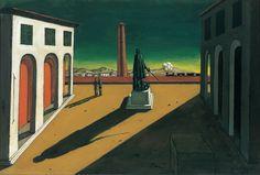 Plaza (Piazza) - Chirico, Giorgio De