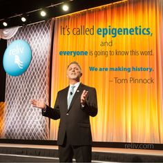 Are you ready for the nutritional #epigenetics revolution? Get ready with Reliv!