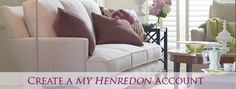 Henredon Furniture (Great quality sectionals)