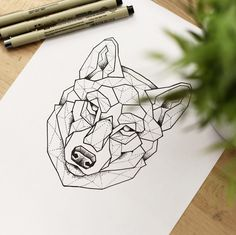 La première partie du projet de Tom ! La suite très vite !  #art #artist #artwork #abstract #wip #stippling #dot #tattoo #tattooart #illustration #geometric #wolfdrawing #sketch #drawing #dotwork #draw #doodle #graphicdesign #graffiti #origami #wolf #graphic #painting #black #blackwork #artgallery #geometricanimal #hyeres #dessin #marseille