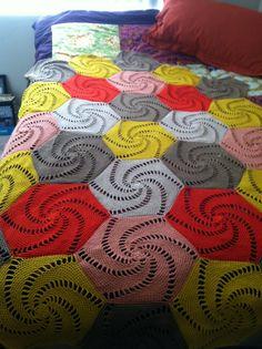 Salem Afghan By Berroco Design Team - Free Crochet Pattern - (ravelry)