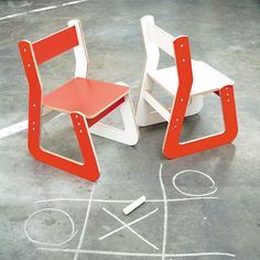 """#Chair #Kids Designers Yvonne Laurysen and Erik Mantel call their work under the label LAMA Concept """"Industrial with a human touch."""" The Dutch team's interior products collection includes laser-cut furniture, dimensional fabric, and a carpet fitted with LEDs — all things we love at Ponoko."""