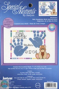 "14 Count Janlynn Counted Cross Stitch Kit 5/""x7/""-home Sweet Home"