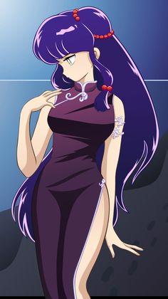 Shampoo looks adorable! Old Anime, Manga Anime, Anime Art, Female Cartoon Characters, Iconic Characters, Badass Aesthetic, Aesthetic Anime, Ranma Y Shampoo, Anime Monsters