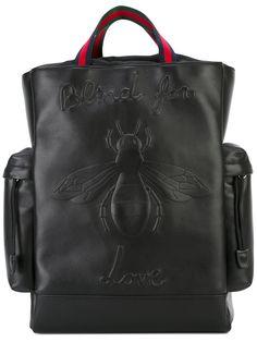 Gucci рюкзак с вышивкой пчелы