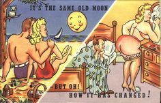 Saucy seaside postcards #lsaucy #postcards #seaside #vintage #retro #humour